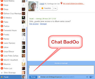 Badoo online chat