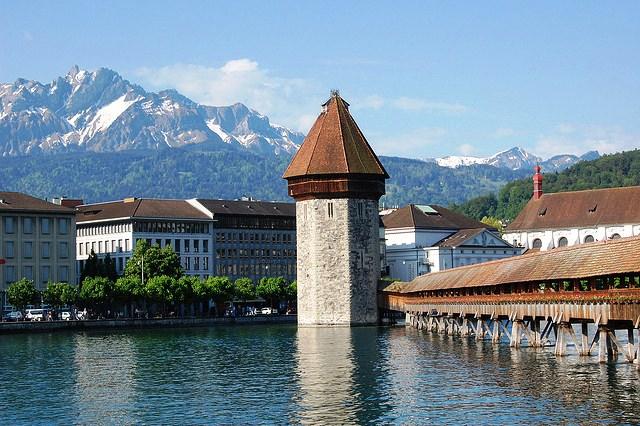 Importantes Ríos De Suiza: La Suiza Alpina