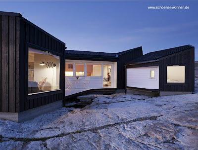 Casas de madera nordica