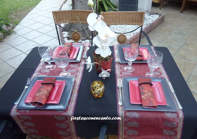 Decoraci n mesa japonesa - Decoracion japonesa ...
