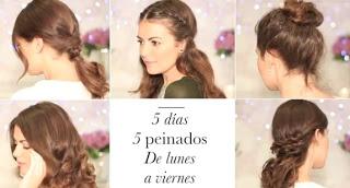 5 Peinados Faciles De Hacer De Lunes A Viernes