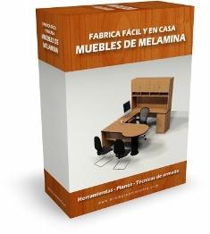 Fabrica y vende muebles de melamina f cil y en casa for Planos para muebles de cocina en melamina
