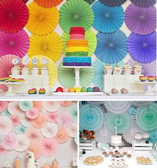 Las mejores ideas para decorar el fondo de la mesa de fiesta - Ideas decoracion fiesta ...