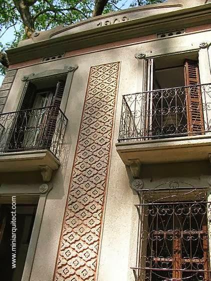 Maquetas de casas modernistas de barcelona - Casa modernista barcelona ...