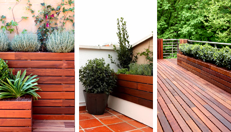 Ideas Con Madera Para Jardines Terrazas