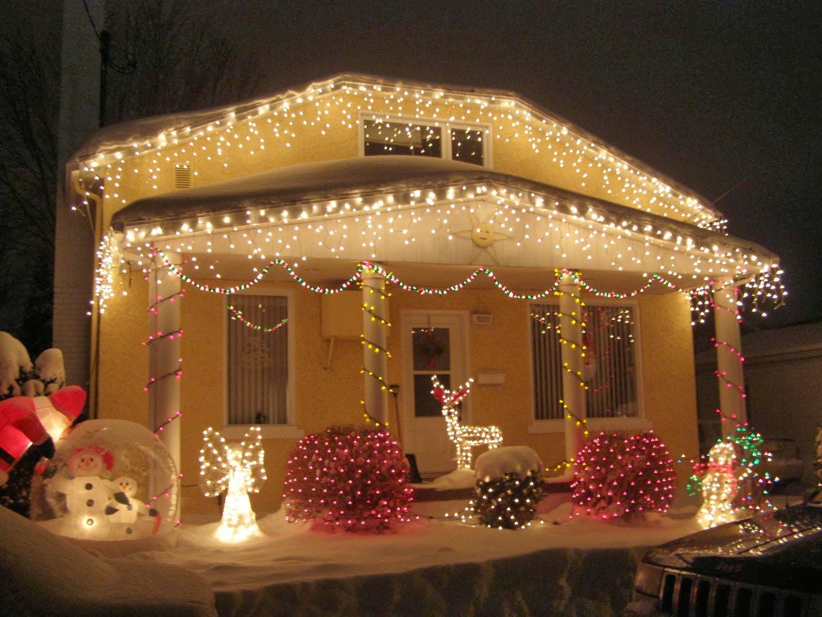 Las luces en navidad for La decoracion de las casas