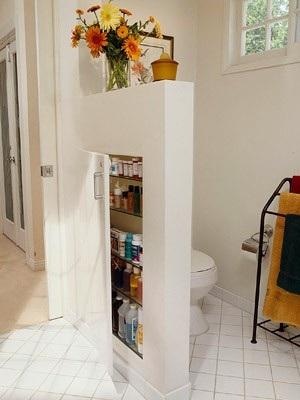 Ahorra espacio en el cuarto de ba o - Muebles para ahorrar espacio ...