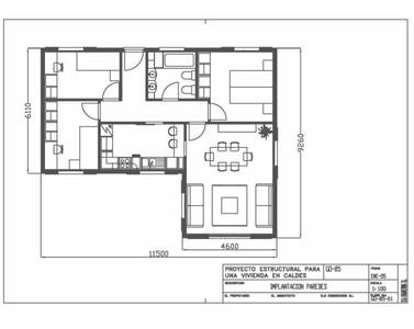La forma de nuestra vivienda o habitaci n un factor que for Fotos de casas en forma de l
