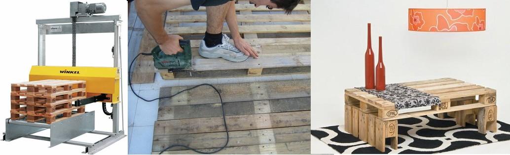 Crear muebles con palets reciclados - Palets muebles reciclados ...