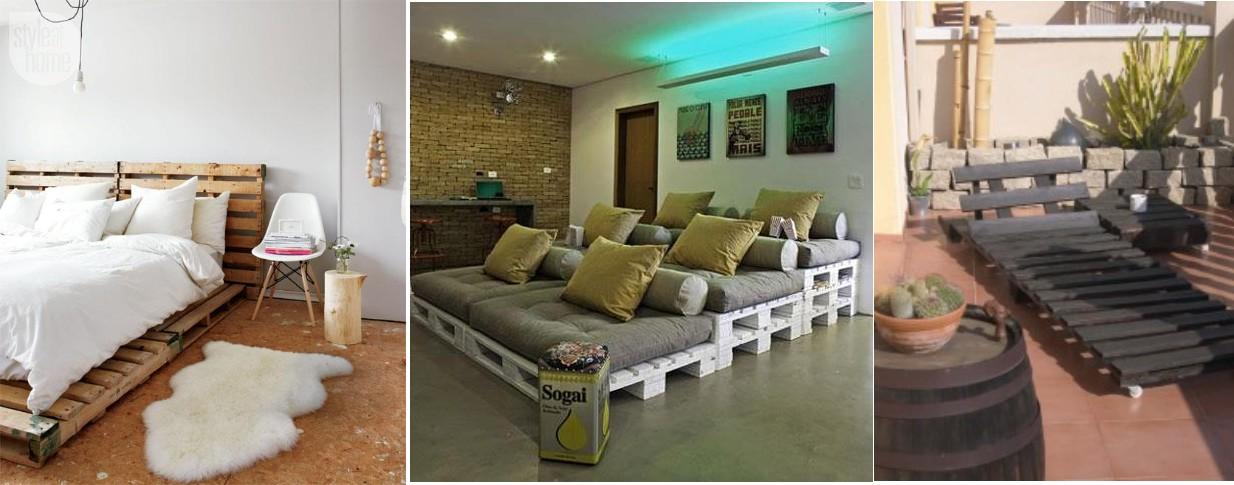 Crear muebles con palets reciclados - Ideas para reciclar palets ...