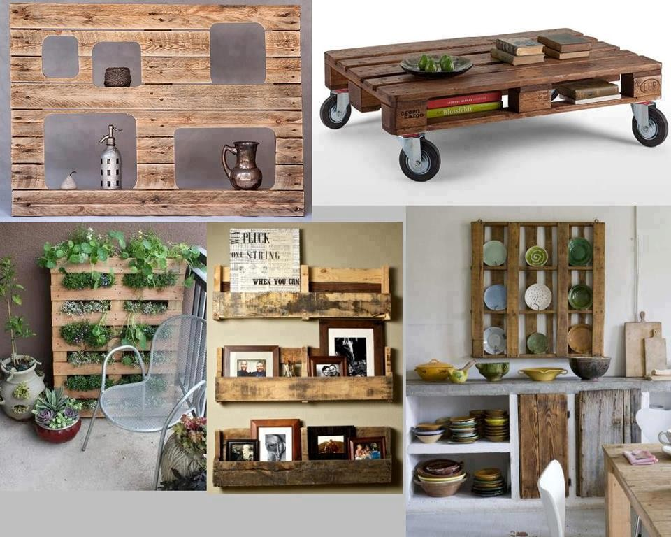 crear muebles con palets reciclados On ideas con palets de madera
