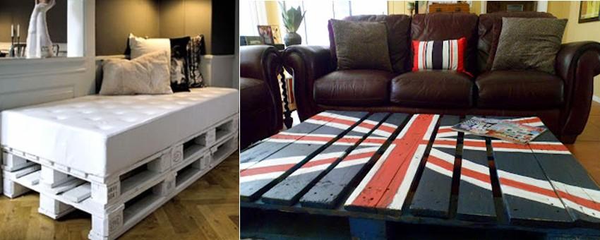 Crear muebles con palets reciclados - Muebles reciclados con palets ...