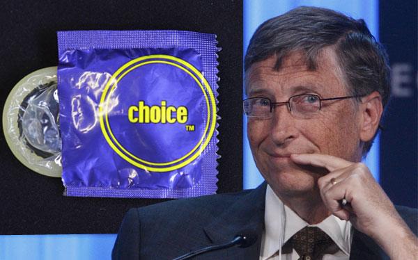 Bill Gates, sida-aids.org, nuevo condón