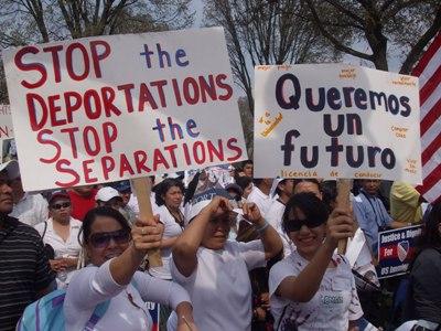 Resultado de imagen para fotos de inmigrantes en eeuu