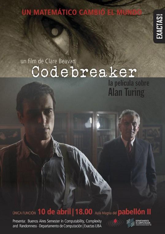 'Codebreaker' gratis | 10 de abril de 2013 a las 18hs | UBA