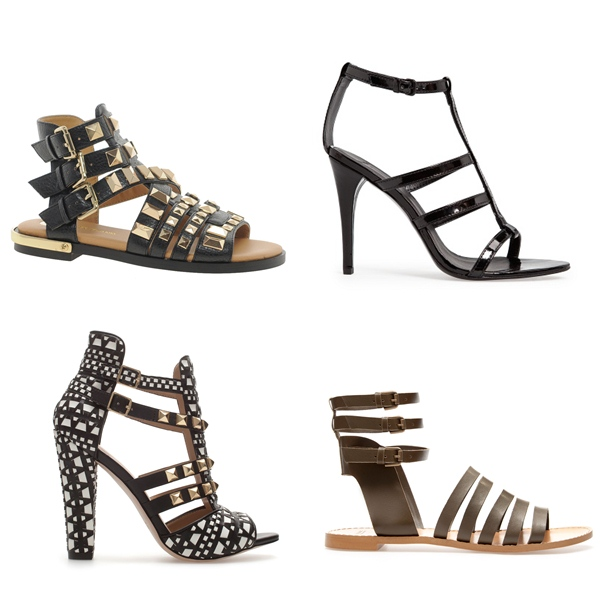 2922450fa836c Las tendencias de zapatos y sandalias para la primavera-verano 2013