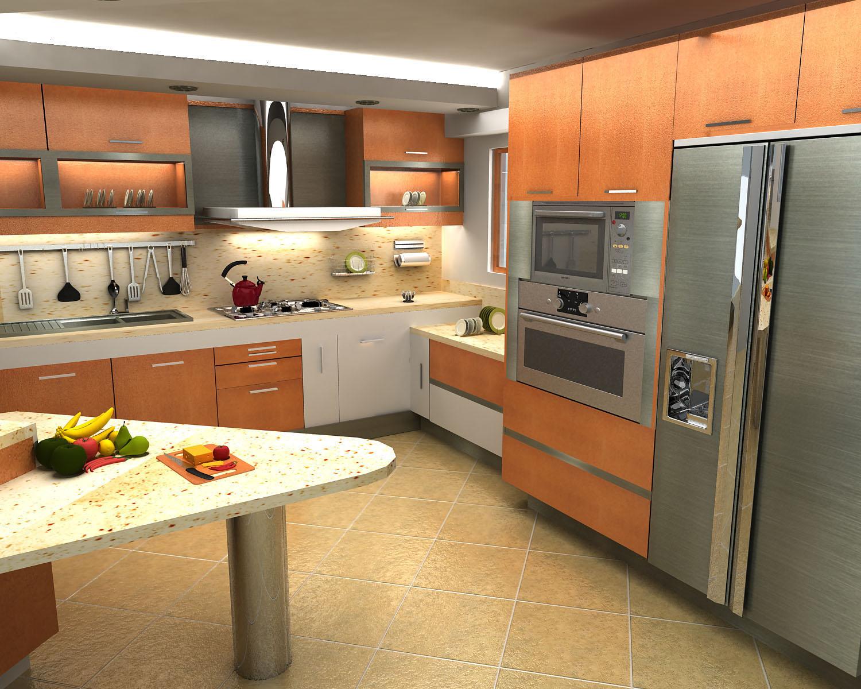 Un buen feng shui en tu cocina no es tan dificil de conseguir for Cocinas espectaculares fotos