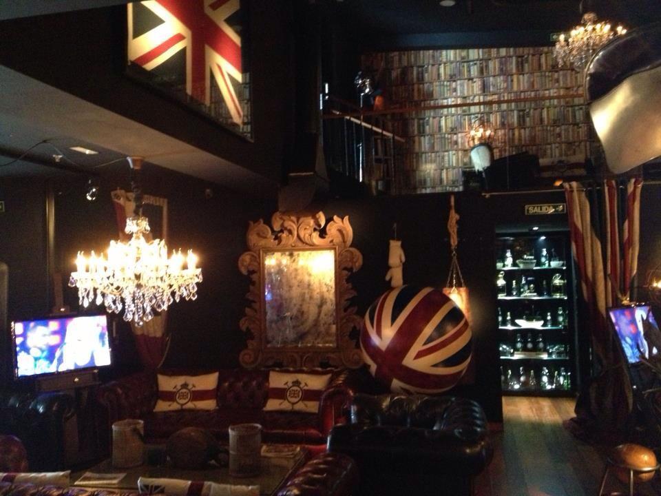 La iluminaci n de los lounge bar el brit en a coru a - Iluminacion de bares ...