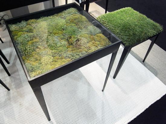 Design Dilema...¿Mesa ó Jardín interior?