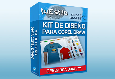 kit de diseño de camisetas para corel draw