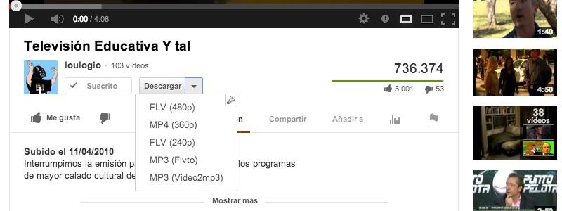 extensiones chrome descargar videos