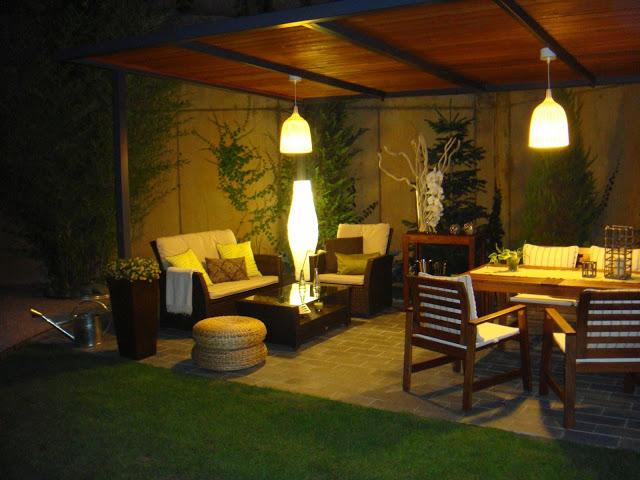 Como iluminar nuestro jard n - Luces para jardines exteriores ...