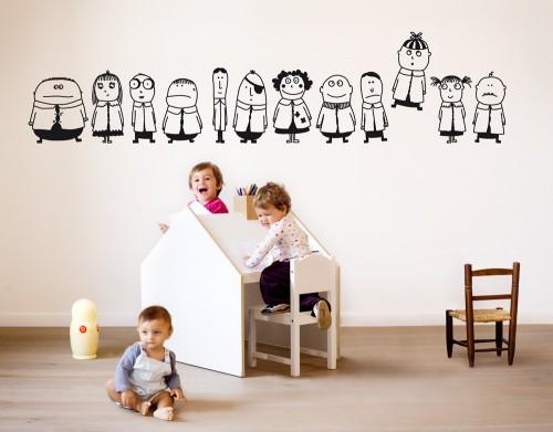 Vinilos infantiles de dise o italiano bumoon for Disenos de vinilos