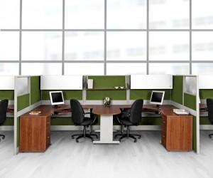 C mo utilizar cub culos para aprovechar los espacios for Cubiculos para oficina precios
