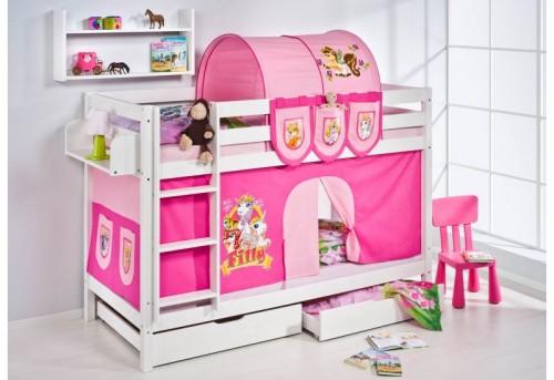 Caballeros y princesas camas semi altas y literas para ni os - Camas para ninos pequenos ...