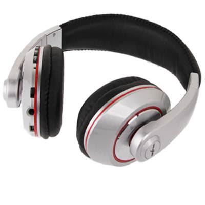 9dd9d7581 Puedes comprar estos auriculares MP3 con radio FM en varios colores,  amarillo, azul, negro y plata.