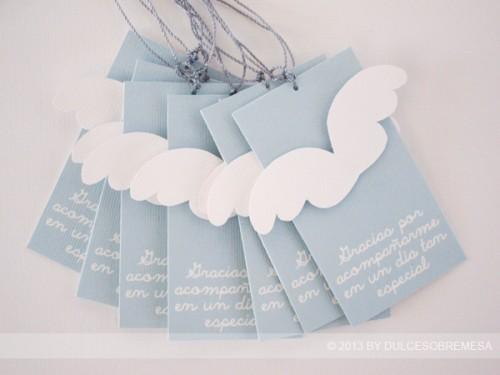 Bautizo Decoracion Elegante ~ Etiquetas, invitaciones, banderines para pajitas, envoltorios
