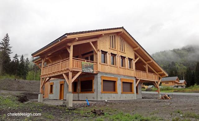 La casa chalé un asunto de diseño y estilo.