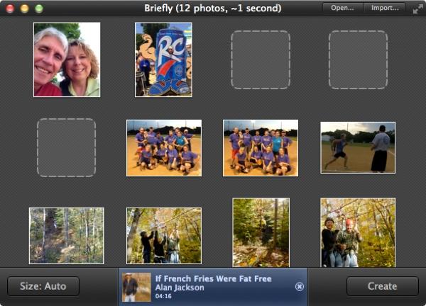 hacer video con fotos y musica mac