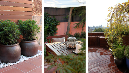 Especial dise o de jardines en ticos ideas para decorar - Diseno de terrazas aticos ...