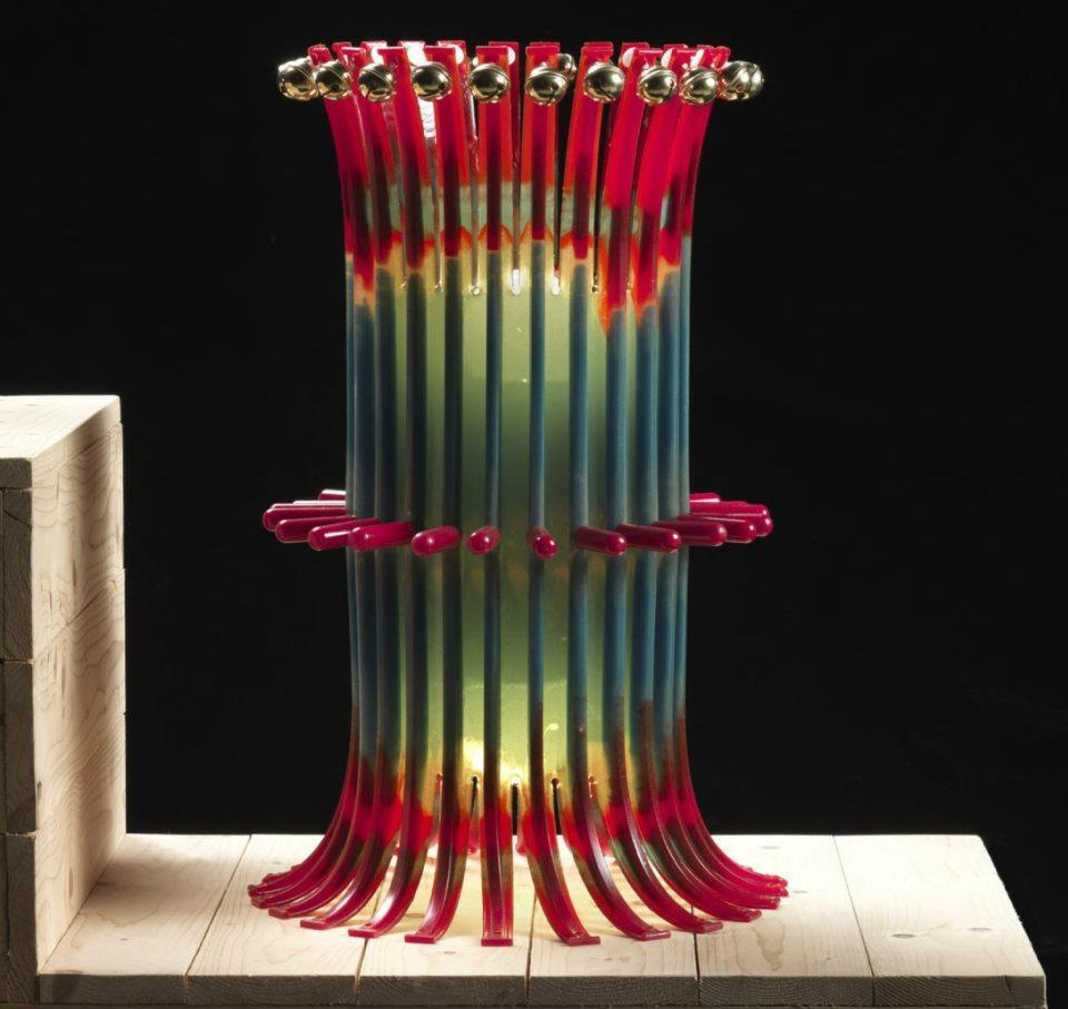 L mparas originales made in italy edizione del pesce - Lamparas de mesa originales ...