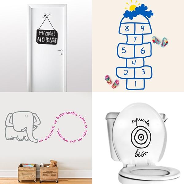 Letras decorativas para portadas imagui for Vinilos infantiles ikea