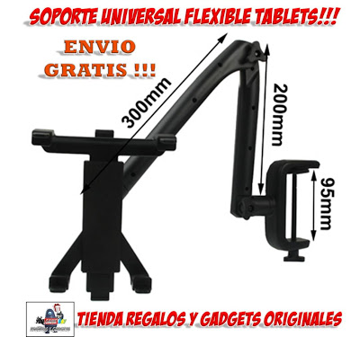 Soporte flexible para ipad soporte universal para tablet - Soporte tablet cama ...