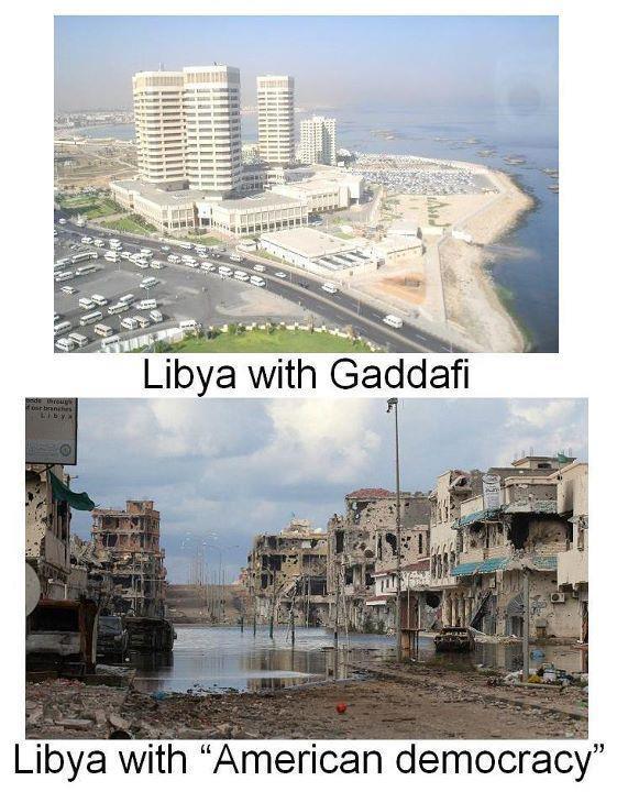 Líbia destruído e dividido, 3 anos após a invasão do l