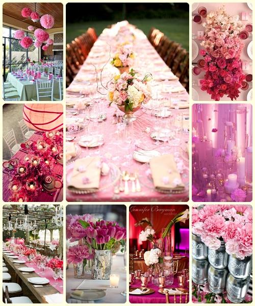 Tema De Matrimonio : Temas para la boda bodas en rosa