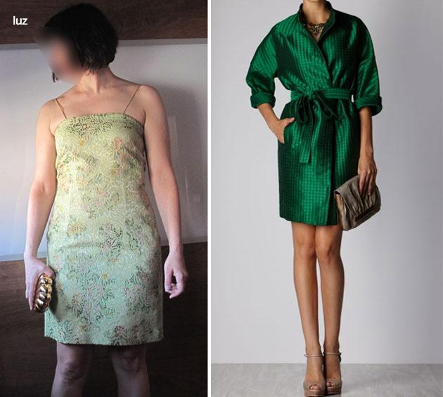 Complementos para un vestido verde manzana