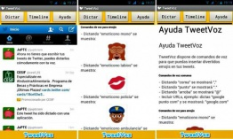 TweetVoz: dicta tus tweets, incluso con divertidos emojis (Android)