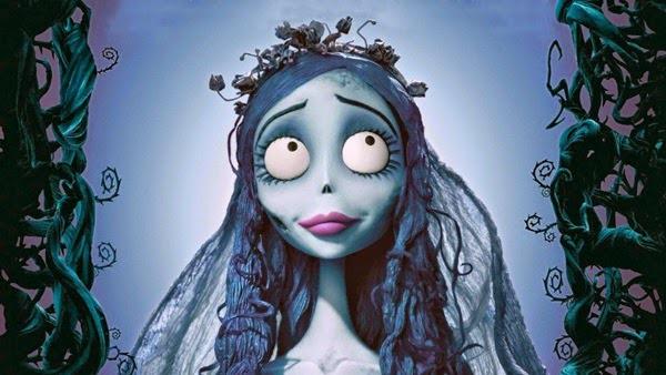 Disfraz de halloween con vestido de novia