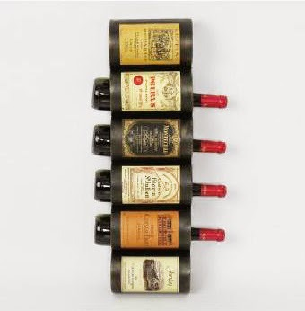 Botelleros originales que decoran - Botelleros de vino ...