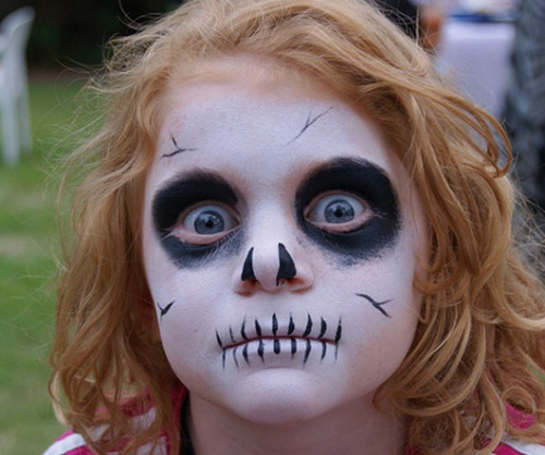Maquillaje Halloween nios 2014