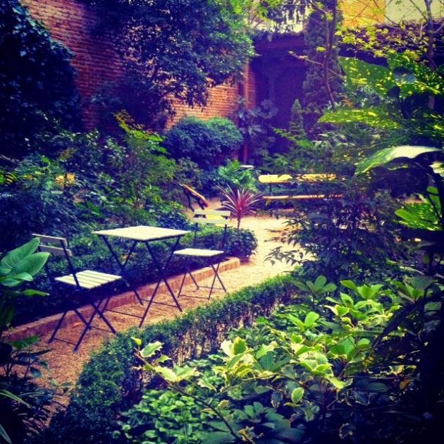 Jardin escondido madrid hogar y ideas de dise o for El jardin escondido