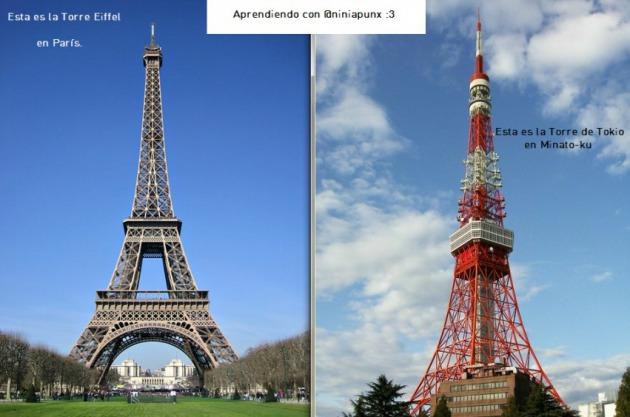 La torre eiffel de tokio es m s alta que la de paris pero for Cuando se construyo la torre eiffel