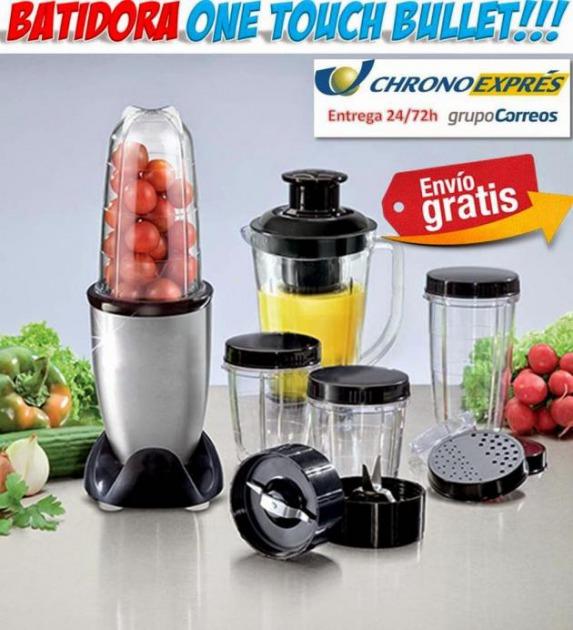 Comprar robot de cocina batidora one touch bullet oferta for Robot de cocina batidora