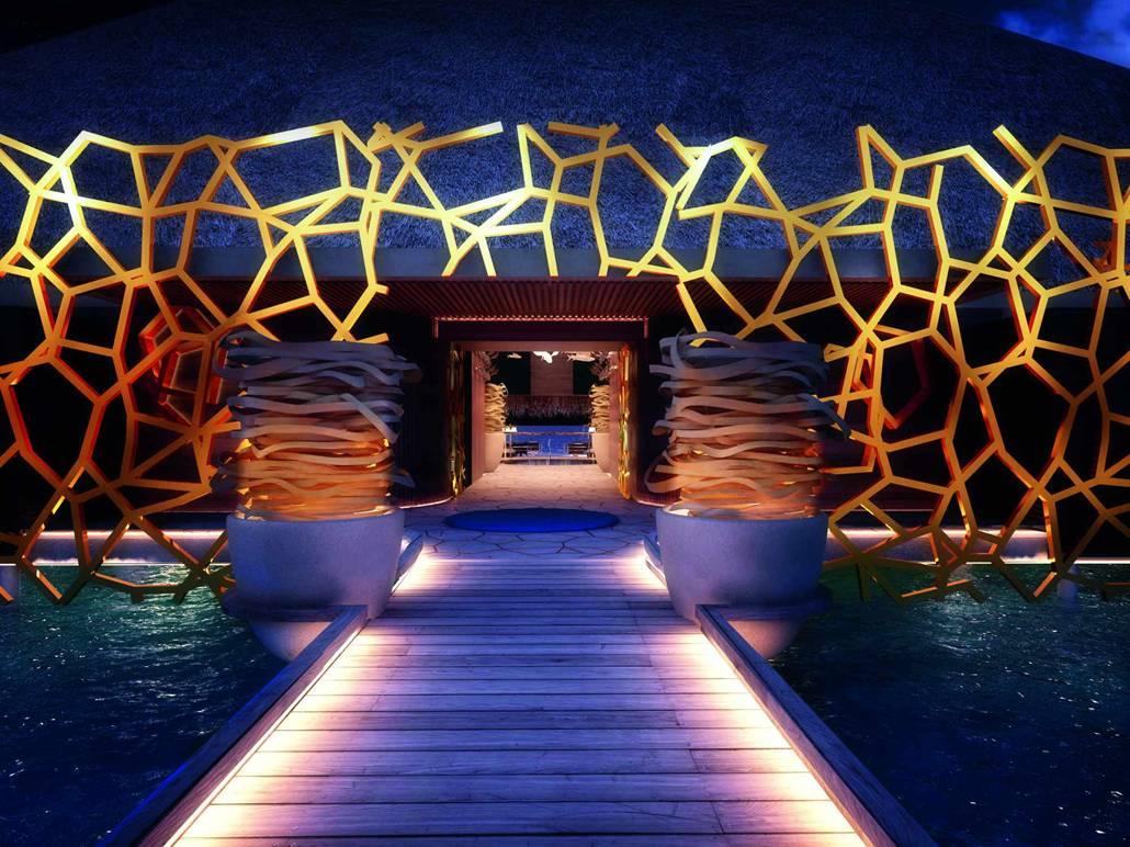 Maldivas y dos nuevos hoteles de extremo lujo for Hoteles super lujo maldivas