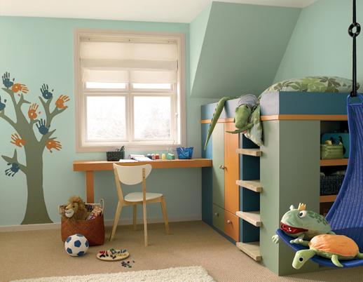 Cinco ideas para pintar la habitacin infantil