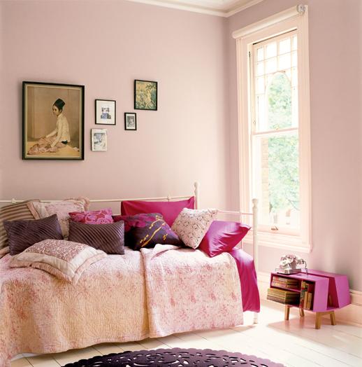 Cinco ideas para pintar la habitaci n infantil - Habitacion rosa palo ...